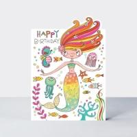 생일 축하 카드 - 인어공주 [CHERRY14]
