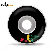[enjoi] RASTA PANDA BLACK WHEELS 52