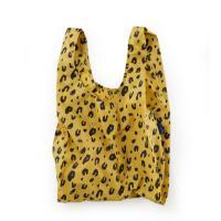 [바쿠백] 휴대용 장바구니 접이식 시장가방 Leopard