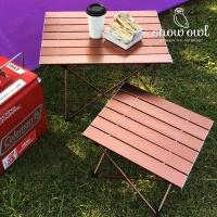 스노우아울 캠핑 초경량 알루미늄 폴딩 롤 테이블