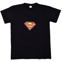 LED 이퀄라이저 티셔츠 [슈퍼맨]
