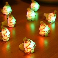LED점등 트리반지 [50개한팩]