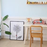 [무료배송] 마이아트 테이블 해바라기1L /접이식 테이블 다용도상