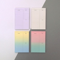 PLAN MEMO PAD_TIME LINE