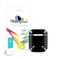 에어팟 2세대 블랙 외부보호필름 세트 2매(HS262)