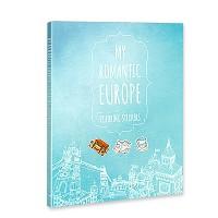 [무료배송] 마이 로맨틱 유럽 컬러링 스티커북