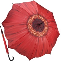레드 데이지 - 원목자동장우산