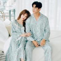[쿠비카]모달 코튼 원피스 커플 순면잠옷 WM191