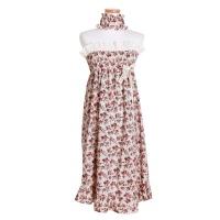 [쿠비카]스모킹 랩가운 여성잠옷 세안밴드포함 W502