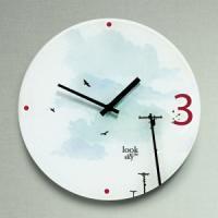 예쁜 인테리어벽시계 하늘여행