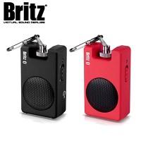 [브리츠] 유 and 무선 블루투스 스피커 BA-V200 Mini.B (MP3 and 스마트폰 등 외부입력 AUX단자 / USB전원 사용가능 / 클립 장착)