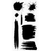 클리어스탬프 Jumbo Abstract Art
