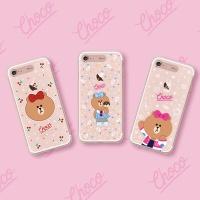라인프렌즈 iPhone7/7+ 초코 SOFT 라이팅 케이스