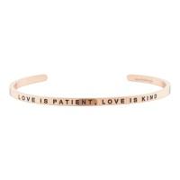 [만트라뱅글] LOVE IS PATIENT, LOVE IS KIND - 로즈