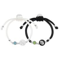 [선물포장] 심플 탄생석 별자리 매듭팔찌