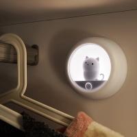 충전식 무선 고양이 LED 무드등 겸용 센서등 LML-S19