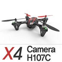 [헬셀] 협산 X4 카메라 입문용 헬리캠 H107C 안정적인호버링 영상촬영 드론