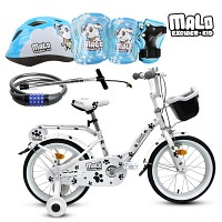 마로프로 41cm(16)4종패키지 /아동자전거/아동헬멧/아동보호대/자전거펌프/어린이자전거/네발자전거