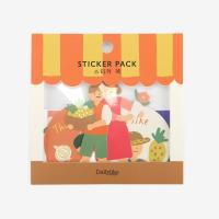 스티커 팩 - 04 Le Petit Marche