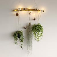 크리스마스 LED 가랜드 DIY 행잉식물 8종
