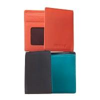 [천연송아지가죽] 지갑 슬림형 윈도우 2 Color
