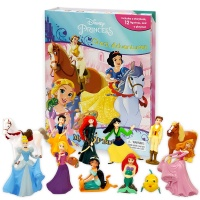 Disney Princess Great Adventures My Busy Book  피규어북