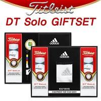 [타이틀리스트] 타이틀리스트 DTsolo 골프공 골프양말 선물세트 (B215343895)