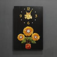 (kdyg024)해바라기벽장식/시계(40X60)