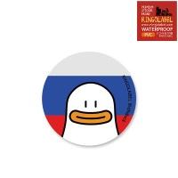캐리어/노트북 스티커 -오우덕 러시아