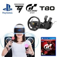 PS4 그란투리스모 스포트 + T80 레이싱휠 + 사운드4D