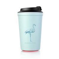 아티아트 아이디어 카페 석션 컵 블루 340ml