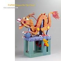 페이퍼 드래곤 온더클라우드 - Dragon On The Cloud (Paper)