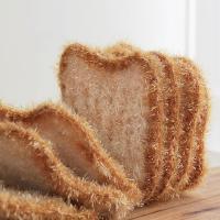 아기자기 식빵 아크릴 주방 수세미 1P