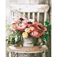 아이엠미니 DIY 별빛 명화그리기 40x50_의자위에 꽃