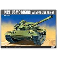 (아카데미과학-ACTA967) 1/35 M60A1 증가장갑형 (13240) 탱크 프라모델