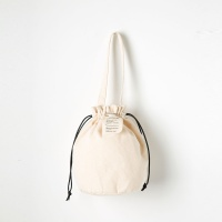 Strap Bucket Bag (Ivory) - P005B_IV