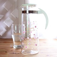 Sakura 플라워리 내열유리 물병 1.4L