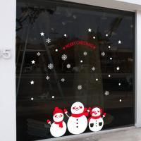 cc489-눈사람들(중형)_크리스마스스티커