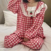 체리체크 파자마 여성잠옷 세트 CH1506945