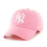 47브랜드 MLB모자 뉴욕 양키즈 핑크 화이트로고
