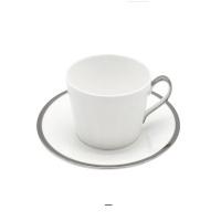 [TwigNY] 플래티늄엣지 골든베이 커피잔&소서