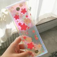 오동에발레리 벚꽃 홀로그램 펜슬파우치