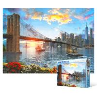 1000피스 직소퍼즐 - 자유의 도시 뉴욕