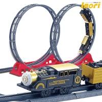 화물수송열차/360도회전/기차/어린이날선물/기차세트