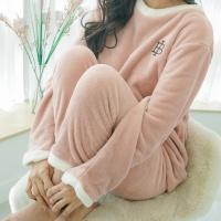 메리핀 밍크 기모 수면잠옷 극세사 홈웨어