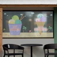 dgse159-핫썸머 아이스크림-반투명시트지
