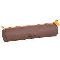 [로디아]로디아라마 원형 펜슬케이스 초콜릿