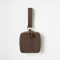 Square Mini Tote Bag (Dark Brown) - P004T_DB