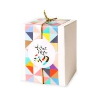 [인디고샵] 행복한 추석 원형 라벨 (10개)