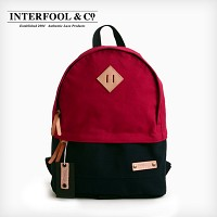 INTERFOOL - Half Two Tone Day Bag (Red-Navy)